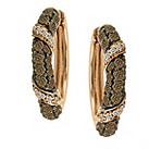 LeVian 14CT Gold One Carat Chocolate Diamond Earrings - Product number 8540926