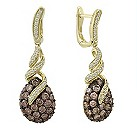 Le Vian 14ct gold 2.36  carat chocolate drop earrings - Product number 8540942