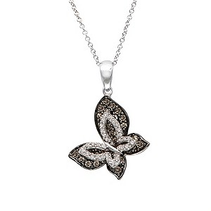 LeVian 14ct Gold 0.65 Carat Chocolate Diamond Pendant - Product number 8540950