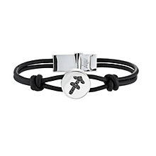 Black Treated Diamond Sagittarius Bracelet - Product number 8541256
