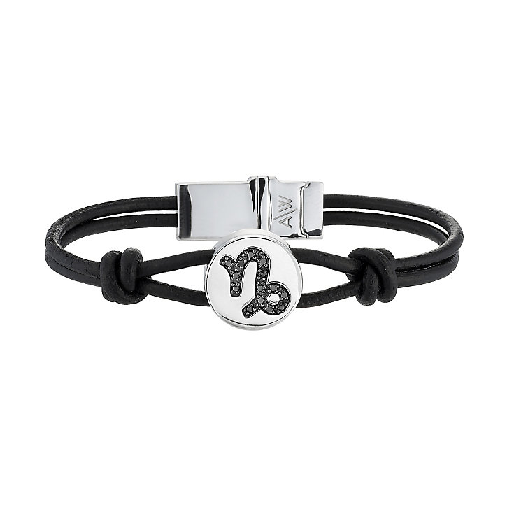 Amanda Wakeley black treated diamond Capricorn bracelet - Product number 8541264