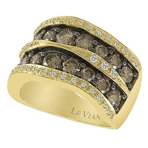 LeVian 14CT Gold 2.38 Carat Chocolate Diamond Ring