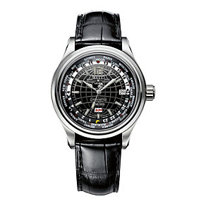 Ball men's black leather strap automatic watch - Product number 8543321