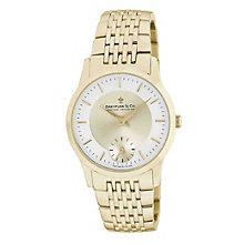 Dreyfuss & Co men's gold plated bracelet watch - Product number 8548617