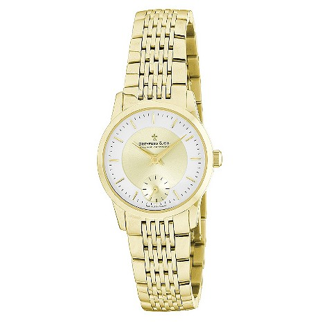 Dreyfuss & Co ladies' gold plated bracelet watch - DLB00002/03