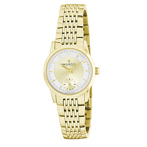 Dreyfuss & Co ladies' gold plated bracelet watch - Product number 8548625