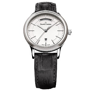 Maurice Lacroix men's classic round date dial strap watch - Product number 8560552