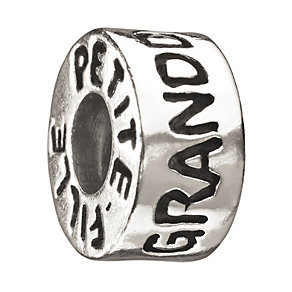 Chamilia sterling silver 'Granddaughter' bead - Product number 8570612