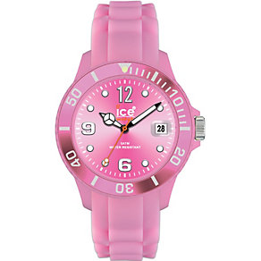 Ice-Watch ladies' Pink Silicone Strap Watch - Product number 8575916