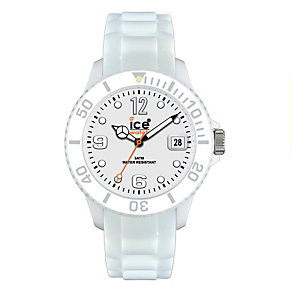 Ice-Watch Ladies' Bright White Silicon Strap Watch - Product number 8583722