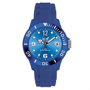 Ice-Watch Ladies' Bright Blue Silicon Strap Watch - Product number 8583773