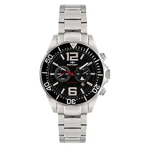 Rotary Aquaspeed Stainless Steel Bracelet Chronograph Watch - Product number 8590192