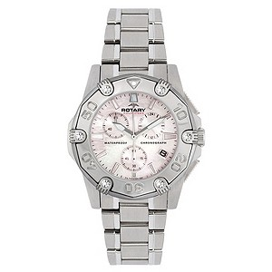 Rotary Aquaspeed Stainless Steel Bracelet Chronograph Watch - Product number 8590346