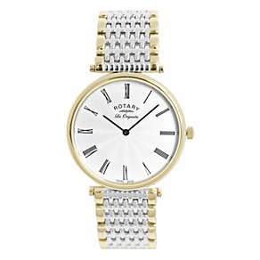 Rotary Men's Two Tone Bracelet Watch - Product number 8590362