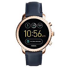 Fossil Q Men's Explorist Rose Gold Tone Smartwatch - Product number 8590508