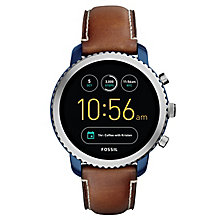 Fossil Q Explorist Two Colour Smart Watch - Product number 8590524