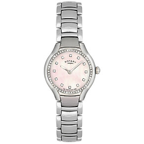 Rotary Ladies' Stainless Steel Bracelet Watch - Product number 8590982