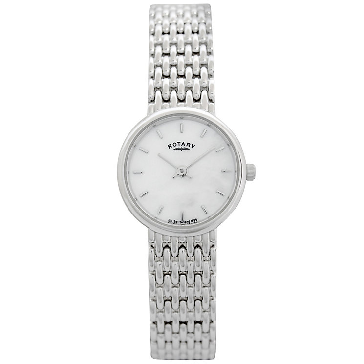 Rotary Ladies' Sterling Silver Bracelet Watch - Product number 8591032
