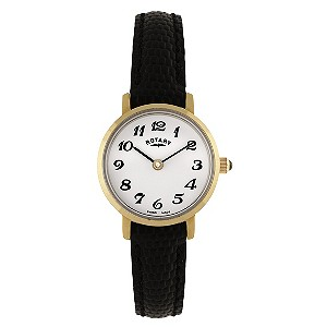 Rotary Ladies' White Dial Strap Watch - Product number 8591091