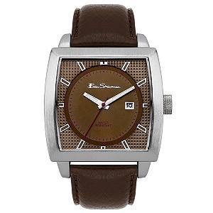Ben Sherman Brown Leather Strap Watch