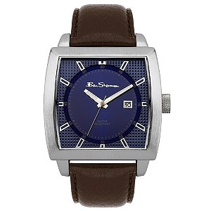 Ben Sherman Brown Leather Strap Watch