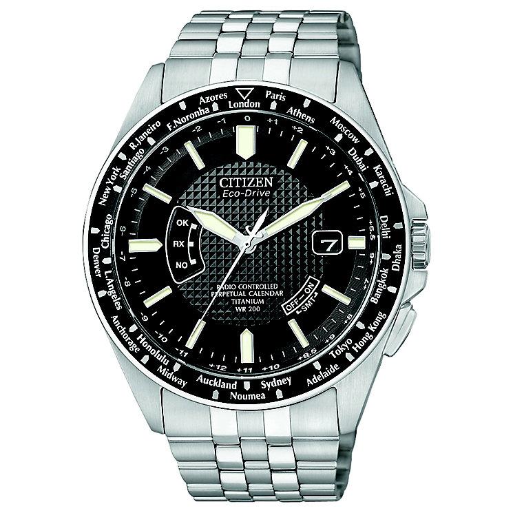 Citizen Eco-Drive Men's Titanium Bracelet Watch - Product number 8594988