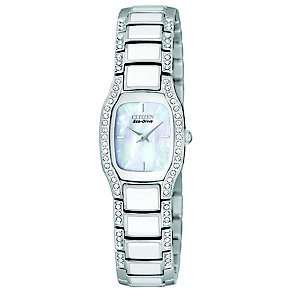 Citizen Eco-Drive Ladies' Stainless Steel Bracelet Watch - Product number 8595208