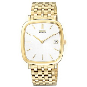 Citizen Men's Gold Plated Bracelet Watch - Product number 8595372