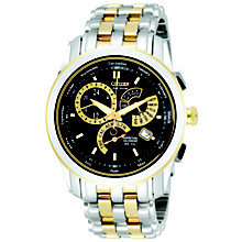 Citizen Eco-Drive Men's Two Tone Stainless Steel Watch - Product number 8595402