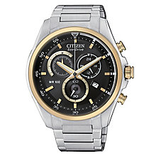 Citizen Eco-Drive Men's Stainless Steel Bracelet Watch - Product number 8600201