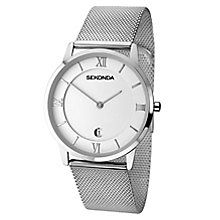 Sekonda Men's Stainless Steel Mesh Bracelet Watch - Product number 8602336