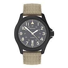 Sekonda Men's Beige Nylon Strap Watch - Product number 8602395