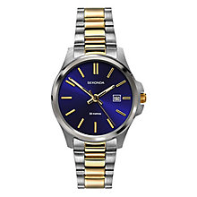 Sekonda Ladies' Two Tone Stainless Steel Bracelet Watch - Product number 8602611