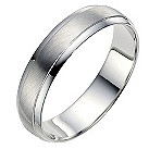 Palladium 5mm wedding ring - Product number 8604886