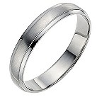 Palladium 4mm wedding ring - Product number 8604894