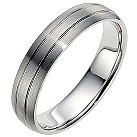 Palladium 5mm wedding ring - Product number 8606749