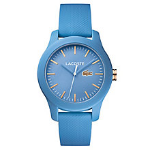 Lacoste Ladies' Blue Silicone Strap Watch - Product number 8610568
