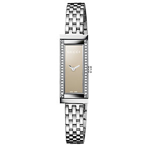 Gucci ladies' stainless steel bracelet watch - Product number 8626200
