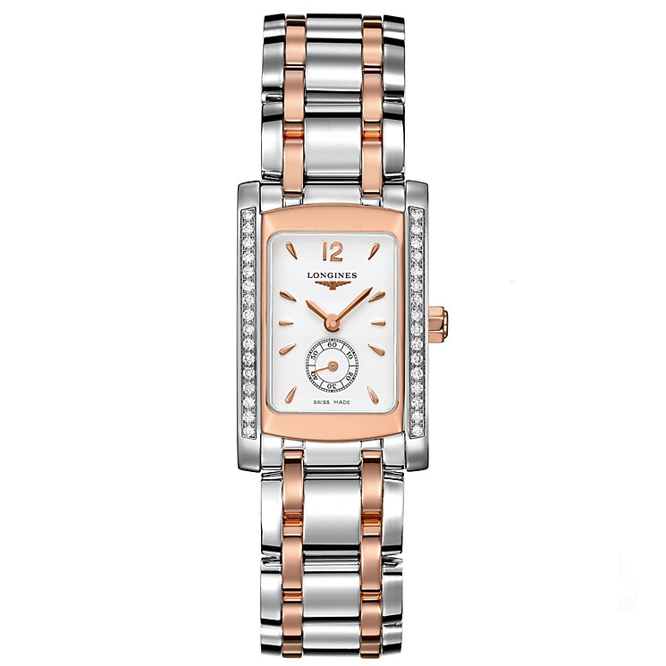 Longines Dolcevita Classic ladies' two colour bracelet watch - Product number 8626545