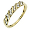 9ct Yellow Gold Cubic Zirconia Ring - Product number 8628599