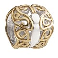Chamilia Silver And 14ct Yellow Gold Butterfly Bead - Product number 8642273
