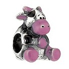 Miss Chamilia sterling silver Love Moo bead - Product number 8642788
