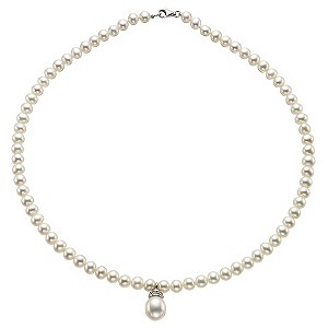 Silver Cultured Freshwater Pearl