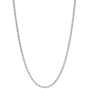 "Silver 18"" Rope Chain - Product number 8648921"