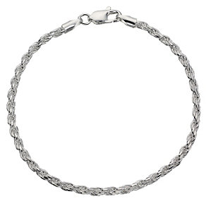 Silver Rope Bracelet - Product number 8648964