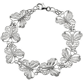 Silver Butterfly Bracelet - Product number 8649030