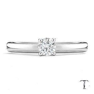 Tolkowsky 18ct white gold HI VS2 0.25ct diamond ring - Product number 8657610