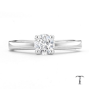 Tolkowsky 18ct white gold HI VS2 0.50ct diamond ring - Product number 8657882