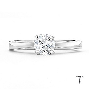 Tolkowsky 18ct white gold HI VS2 0.66ct diamond ring - Product number 8658013