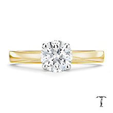 Tolkowsky 18ct yellow gold 1.00ct HI-VS2 diamond ring - Product number 8659087